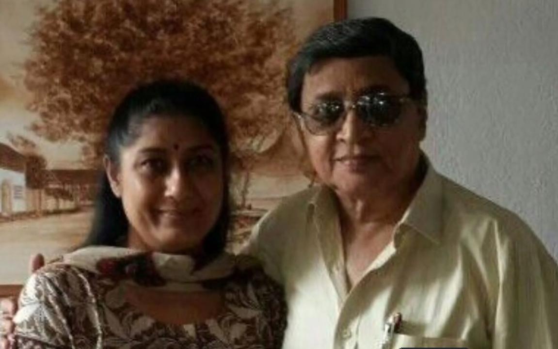 Ragini Shah With Husband