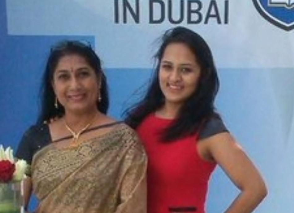 Ragini Shah Family photo