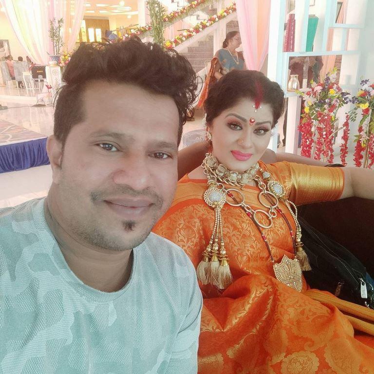 Sudha Chandran family photo