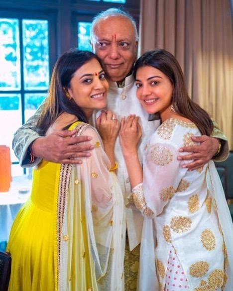 Kajal Aggarwal family photo