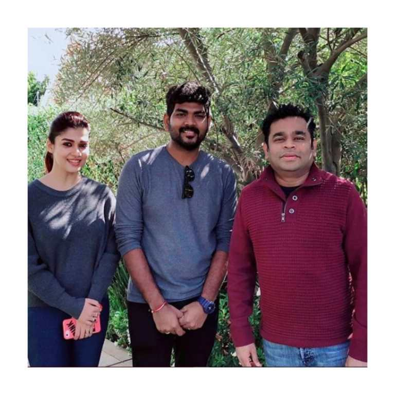 Nayanthara And A.R. Rehmaan