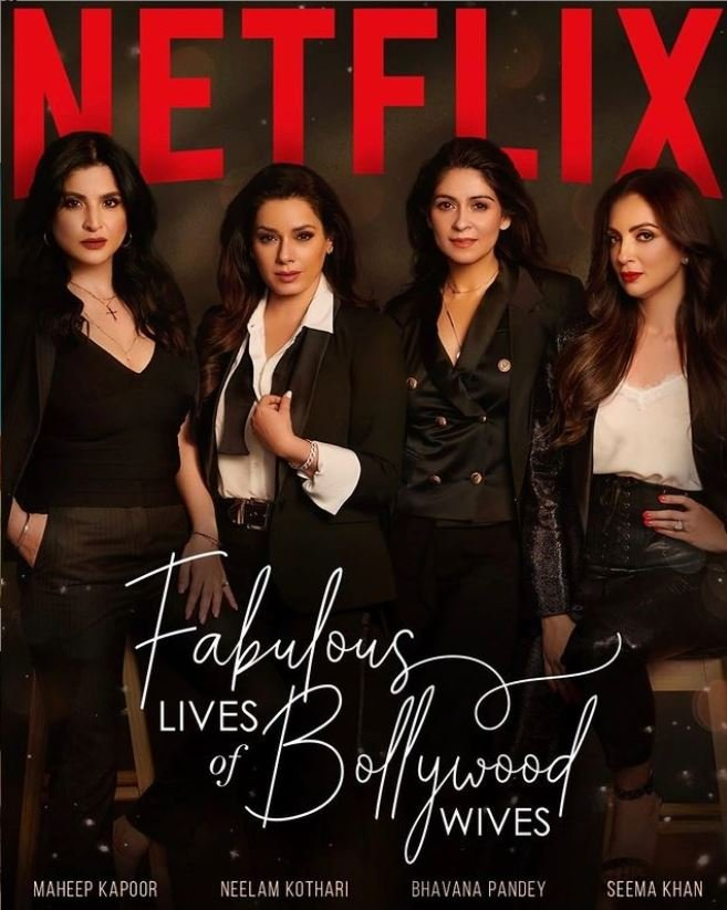 The Fabulous Lives of Bollywood Wives Poster