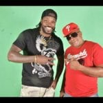 Chris Gayle with his brother, Vanclive 'Father Bulla' Parris