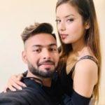 Isha Negi With Rishabh Pant
