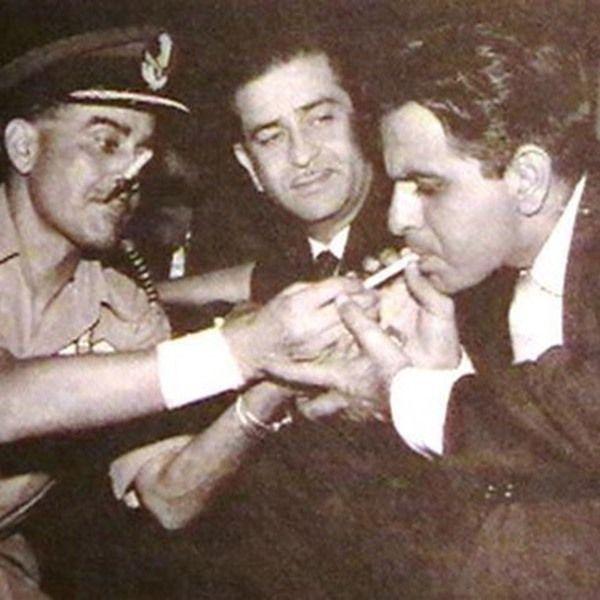 दिलीप कुमार धूम्रपान
