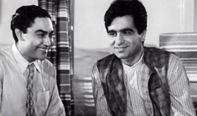 अशोक कुमार के साथ दिलीप कुमार