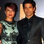 Farhan Akhtar With His Ex-spouse Adhuna Akhtar