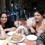 Surbhi Tiwari with her mother and siblings