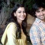 Harshad Chopra with his ex-girlfriend, Sriti Jha