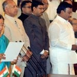 A. Raja - Sworn in as the Minister Of Communications & Information Technology in 2007
