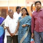 A. Raja wife (2nd from right) and other family members