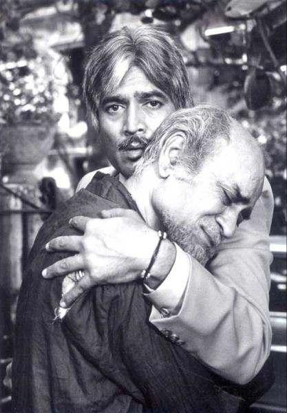 राजेश खन्ना के साथ एके हंगल