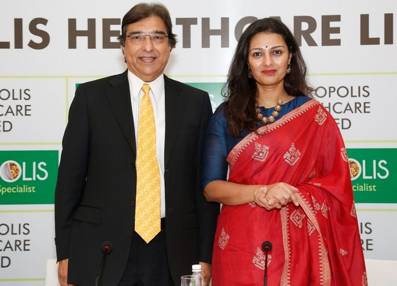 Ameera Shah with her father, Dr. Shushil Shah