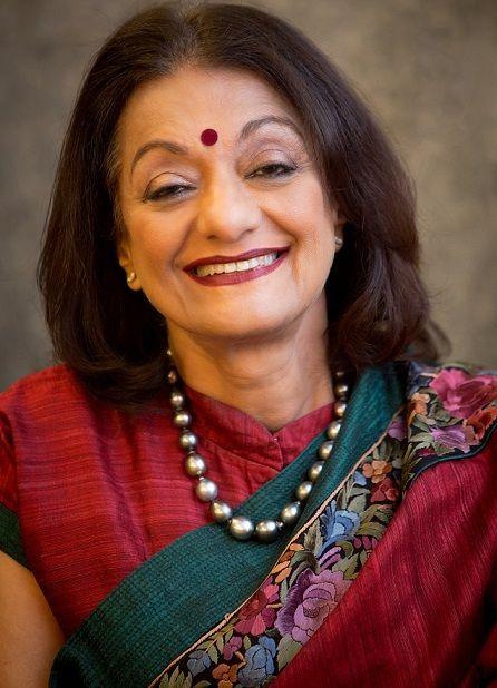 Ameera Shah's mother, Dr. Duru Shah