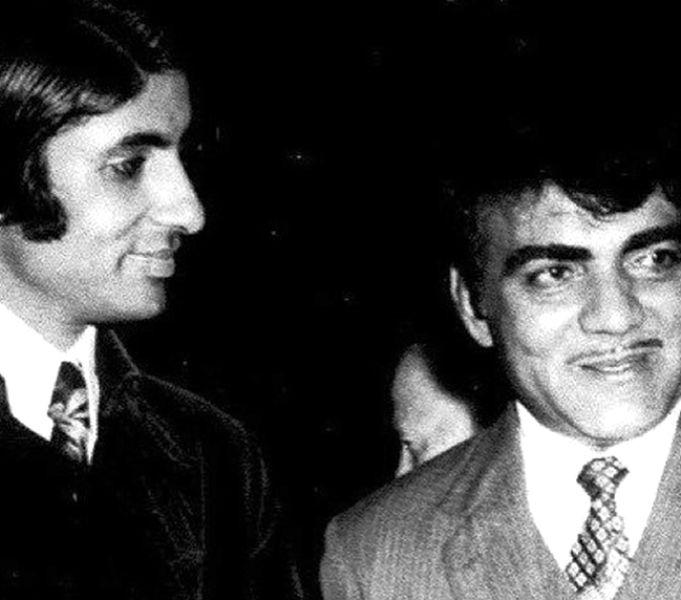 महमूद अली के साथ अमिताभ बच्चन