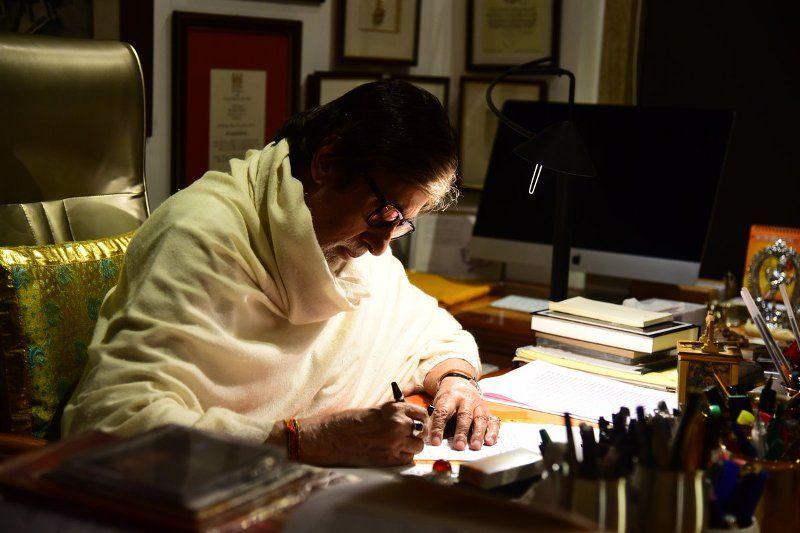 अमिताभ बच्चन लेखन