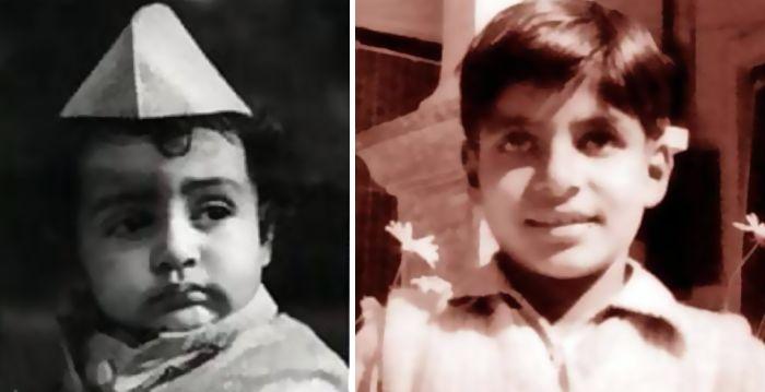 बचपन में अमिताभ बच्चन