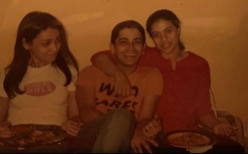 रयान इवान स्टीफन और काजोल की एक पुरानी तस्वीर