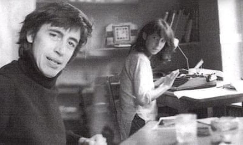 रिचर्ड नेविल और जूली क्लार्क की एक पुरानी तस्वीर