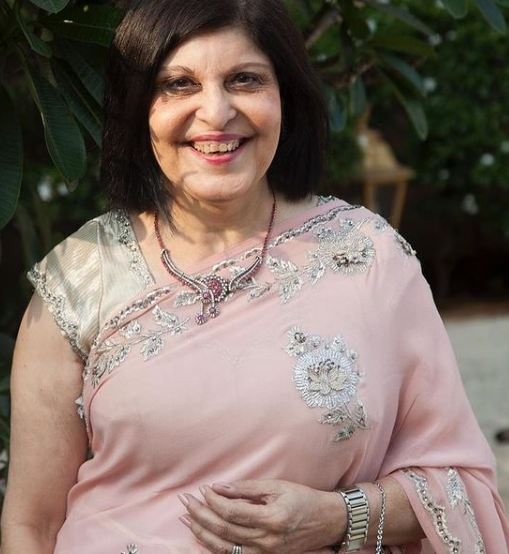 Anaita Shroff Adjania's mother