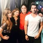 Ankit Gera with his family