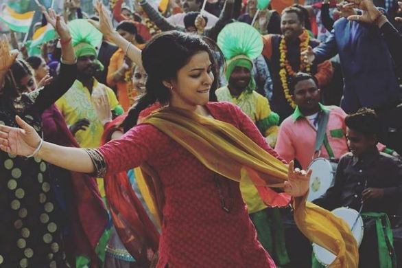 Ankita Shrivastav in a still from the film Sarbjit