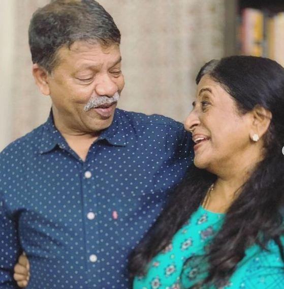 Ankita Shrivastav's parents