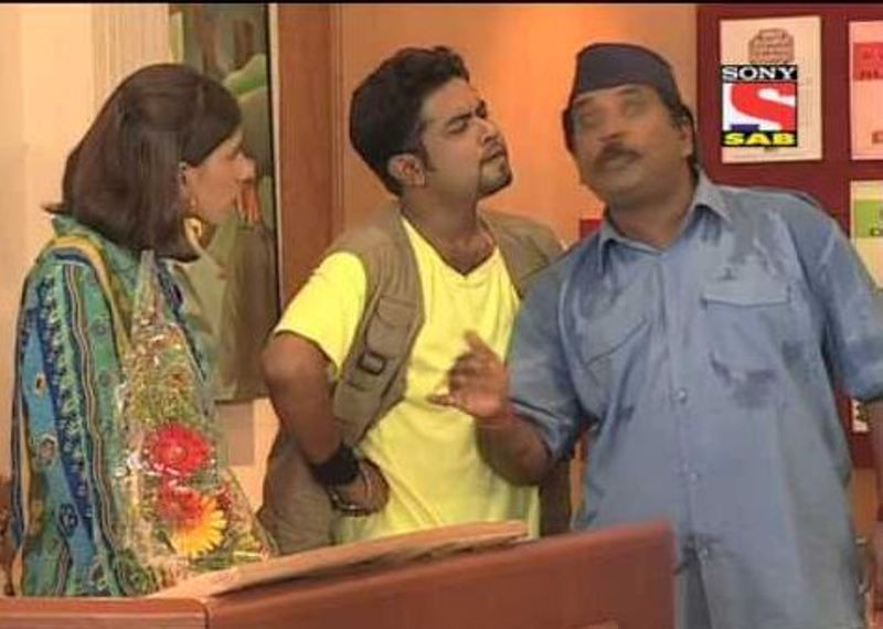 Ashiesh Roy in Yes Boss
