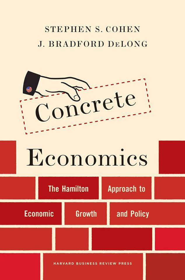 अतहर आमिर खान - कंक्रीट अर्थशास्त्र ... आर्थिक विकास और नीति के लिए हैमिल्टन दृष्टिकोण