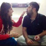 Badshah with his sister