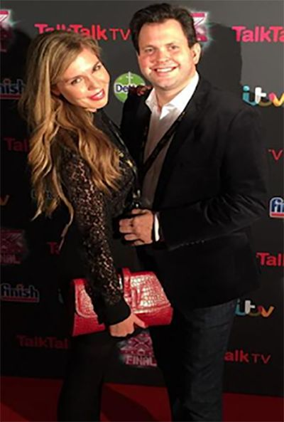Carrie Symonds and Harry Cole