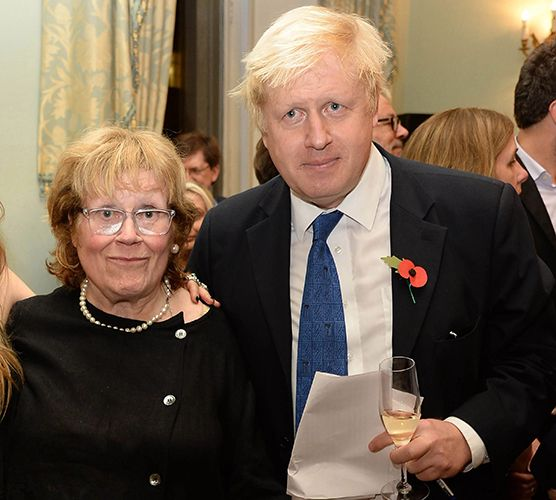 Carrie Symonds' husband and mother-in-law