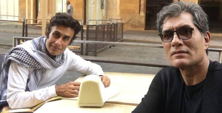 Denzil Smith and Arif Zakaria