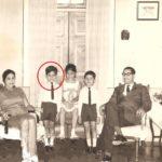 Denzil Smith with his family