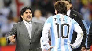 डिएगो माराडोना अर्जेंटीना के कोच के रूप में