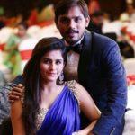 Diya Makhija with husband