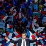 इमैनुएल मैक्रों फ्रेंच प्रेसीडेंसी अभियान