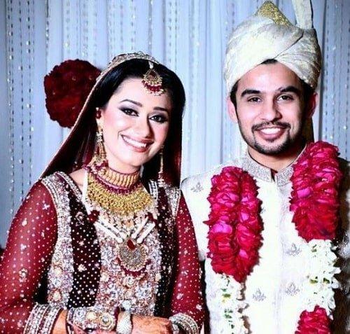 Fahad Shaikh's wedding picture