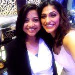 Faye D'Souza With Kubra Sait