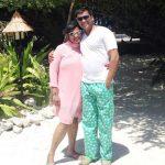 Geeta Gawli with her husband