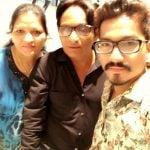 Haarsh Limbachiyaa with his parents