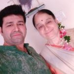 Heital Puniwala with his mother
