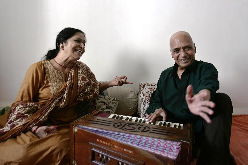 Jagjit Kaur and Khayyam