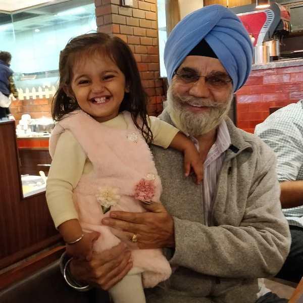 Jaspreet Singh's father