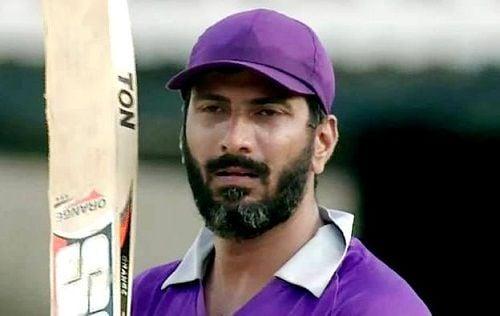 सलेम चीता की टीम के खिलाड़ी के रूप में जीतन रमेश