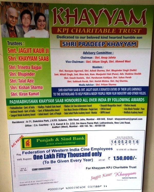 Khayyam Jagjeet Kaur KPG Charitable Trust