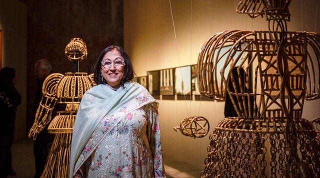 किरण नादर कला के किरण नादर संग्रहालय में