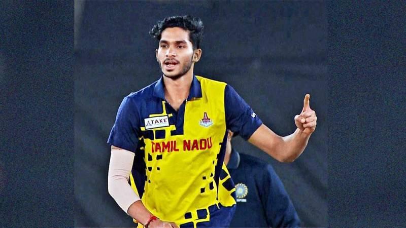 Manimaran Siddharth for Tamil Nadu team