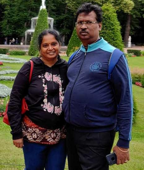 Manimaran Siddharth's parents