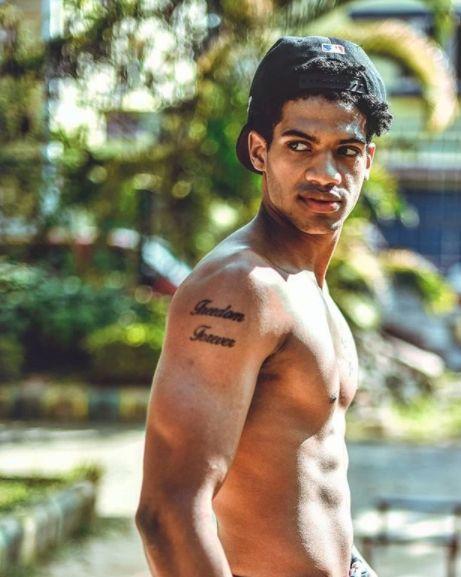 Michael Ajay's tattoo